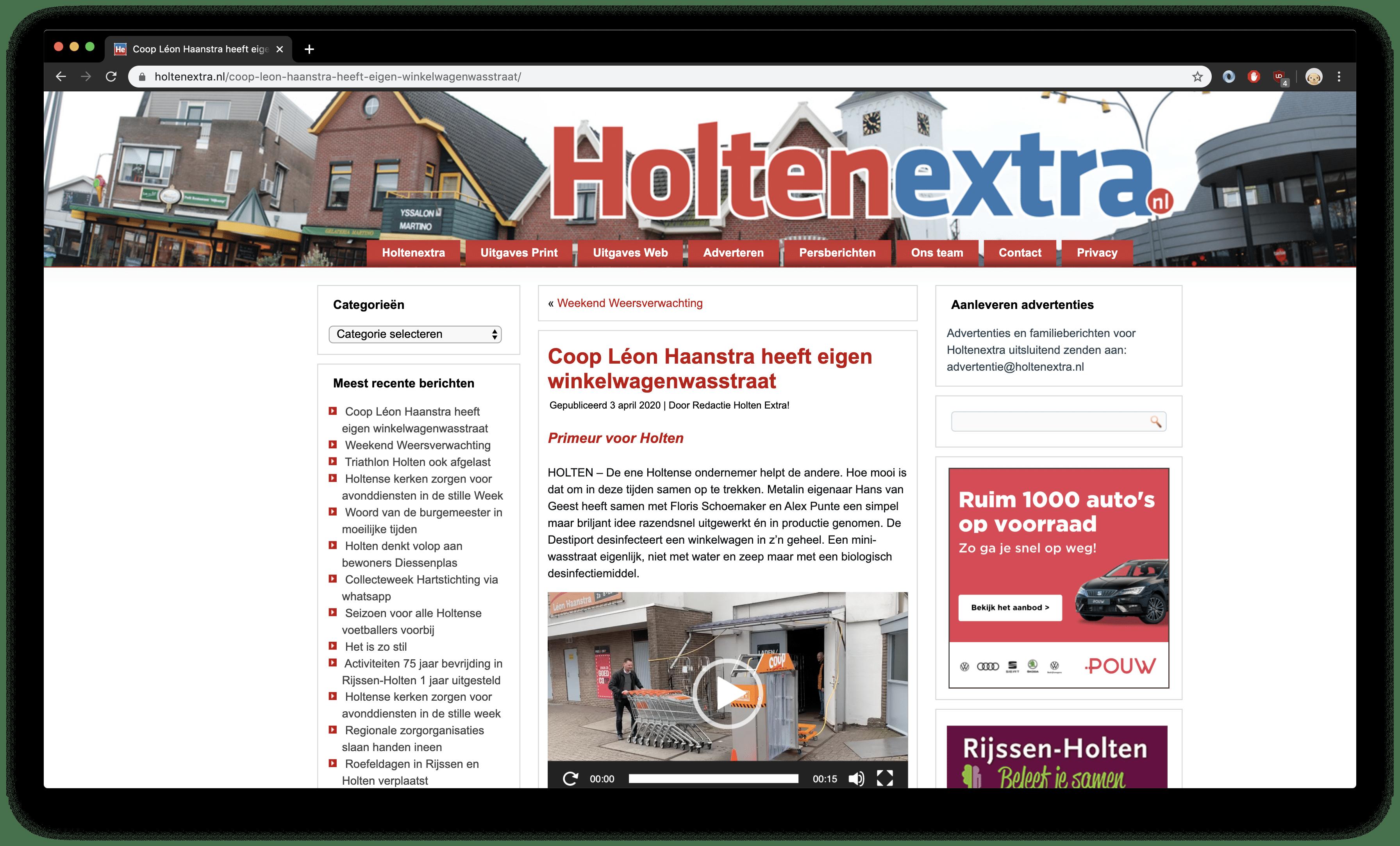 Holtenextra